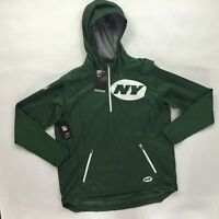 Nike NFL New York Jets Fly Rush Jacket Green White 837113-323 Men's S-XXL