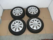 """AUDI A3 8P 16"""" ALLOY WHEELS WITH TYRES 205/55/R16 TREAD 7mm 2004-2008 SET OF 4"""