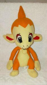 "Pokemon Chimchar Plush Monkey Pokemon Fire Tail Toy Factory Nintendo 14"""