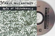 CD CARTONNE CARDSLEEVE PAUL MC CARTNEY 2T 1992 HOPE TE DELIVERANCE