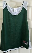 Nike green and white mesh sleeveless basketball top size S/M Nwt!