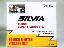 TOMICA TOMYTEC VINTAGE NEO NISSAN SILVIA TURBO SUPER SILHOUETTE 1983 Ver Yellow