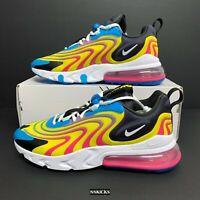 Nike Air Max 270 React ENG CD0113-400 Laser Blue/White Watermelon Summer Shoes