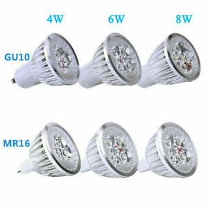 10pcs LED Globe Spot Light GU10 MR16 4W 6W 8W 220V 12V Downlight Bulbs AU