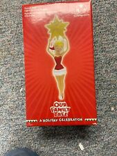RARE DISNEY STORE TINKER BELL-OUR FAMILY TREE LIGHT-UP TOPPER NIB