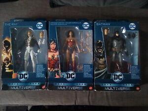 Mattel Multiverse DC Figures 3 X  **Batman**Wonder Women**The Ray**
