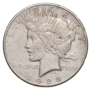 1928-S Peace Silver Dollar - US Coin *476