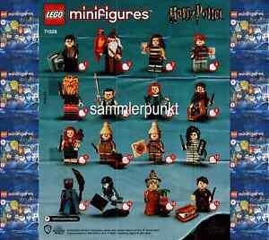 *1 LEGO® MINIFIGUR -im DVB oder OVP- Ihrer Wahl aus Harry Potter2 - LEGO #71028*