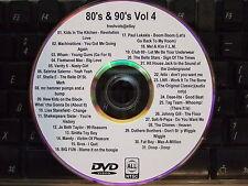 80's 90's VOL 4 MUSIC VIDEO DVD WHAM KIDS IN THE KITCHEN PAUL LEKAKIS TAG TEAM