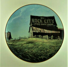 America'S Heartland Plate Vanishing Rural America Jim Harrison See Rock City