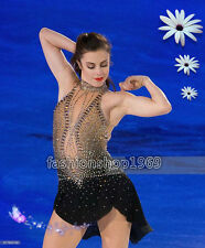 New Ice Figure Skating Dress  Baton Twirling custom Dress for competition xx299