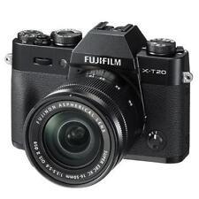Fuji Fujifilm X-T20 Noir + XC 16-50 mm Mark II Lens (UK Stock) Entièrement neuf dans sa boîte