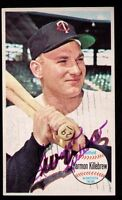 1964 Topps Giants #38 Harmon Killebrew Minnesota Twins SIGNED AUTOGRAPHED