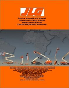 JLG-Service Manual-Parts Manual-Operators Manual-Electrical Schematic-All Models
