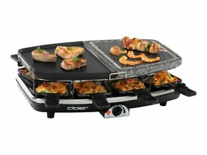 Cloer Raclette/grill/hot stone 1.2 kW 6435
