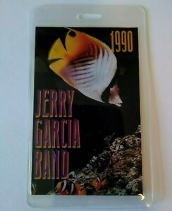 Jerry Garcia Band Backstage Pass Original 1990 Concert Solo Tour Grateful Dead