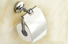 Polished Chrome Bathroom Accessories Wall Mounted Toilet Roll Paper Holder