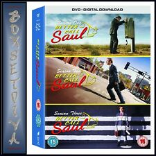 BETTER CALL SAUL - COMPLETE SEASONS  1 2 & 3 BOXSET  *BRAND NEW DVD*