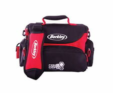 Berkley Midi Soft Fishing Tackle Bag FG 2500 + 4 Fishing Tackle Boxes