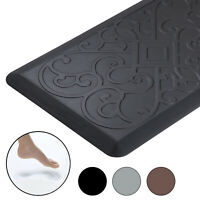 Anti-Fatigue Mat,Thick Floor Pad For Kitchen Standing Desk,Garage,Office Black