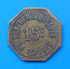 69 Lyon Eden-bars 15 centimes Elie E25.4