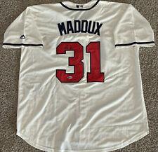 Greg Maddux signed Atlanta Braves Jersey - Beckett