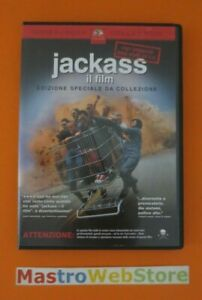 JACKASS - IL FILM - 2002 - PARAMOUNT PICTURES - DVD [dv20]