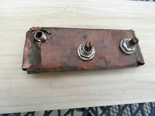 Rare Vintage 1961 Danelectro Potentiometers Pots Jack Cap