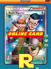 Ago Battle Reporter-Full Art-Pokemon TCG Online (Digital PTCGO in game card)