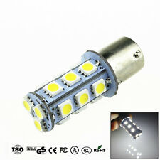2X White 1156 BA15S 18 SMD 5050 LED Light Bulb Turn Signal Backup Reverse Lamp