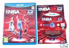 NBA 2K13-Nintendo Wii U Juego Y Estuche PAL