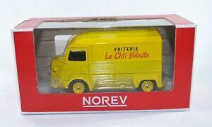 Citroen hy 1980 takeaway norev  310804 - 1/64 scale Yellow Le Chti Biloute Frite