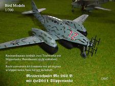 Me 262 B-2 mit HeS011 Slippertanks   1/72 Bird Models Umbausatz / conversion kit