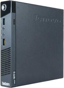 Lenovo M93 Intel i7 Quad Core 500GB SSD 8GB Win10 Pro Micro Tiny Desktop Home PC