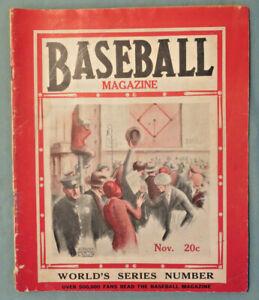 Baseball Magazine Nov 1930 World Series Philadelphia A's v St. Louis Cardinals