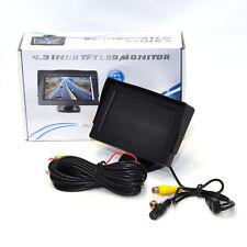 Panel Lcd 4.3 in (approx. 10.92 cm) TFT DVD Monitor Pantalla Para El Coche cámara de marcha atrás del vehículo