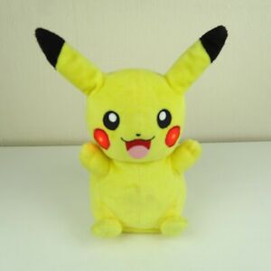 Light Up, Talking TOMY Pikachu Pokemon Plush Toy Tested and Working B