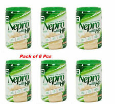 6 X Abbott Nepro HP Vanila Powder High Nutrition Energy Feed Carb Steady