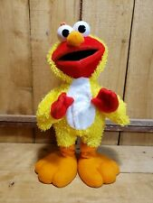 "Sesame Street Fisher Price 14"" Elmo Chicken Dance Original 2001 Plush Dancing"