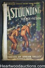 "Astounding Oct 1938 ""The Tramp"" part 2 of 3 by L. Ron Hubbard, Clifford D. Simak"