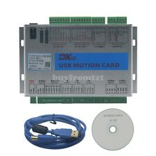 Upgrade Cnc Mach3 Usb 3 Axis Motion Control Card Breakout Board 2mhz Mk3 V