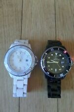 Toy Watch White and Black Plateramic Ladies Watch Lot