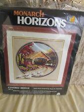 Monarch Horizons Cross stitch kit  Covered Bridge MH 14 NIP