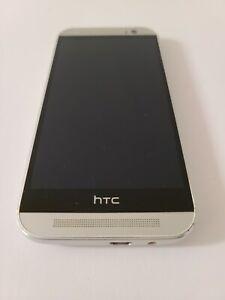 HTC One M8 (HTC6525L) 32GB - Silver (Verizon) Smartphone - Tested