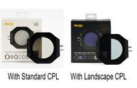 NiSi V6 100mm Filter Holder with Standard CPL / Enhanced Landscape CPL Universal