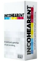 Incohearent - WHAT DO YOU MEME? - Adult Party Game FREE SHIPPING