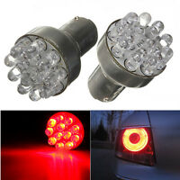 2x 12 LED 12V Red Car Bulb 1157 BAY15D Globes Brake Turn Stop Tail Light Lamp