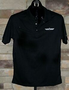 Bourget's Bike Works S/S OGIO Accelerator  Embroidered Polo Shirt! Black