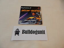 New Alter Echo Playstation 2 Ps2 Game Demo Sampler Not for Resale
