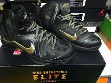 Nike Lebron 9 ix Elite Black size 11 516958-002